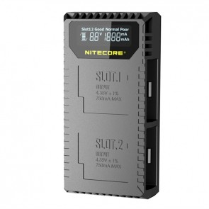 Nitecore UGP5, Încărcător USB Pentru GoPro Hero5 Black Battery